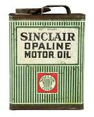 Sinclair Opaline Motor Oil One Gallon Can