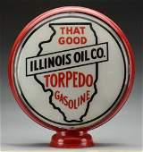 Illinois Torpedo Gasoline 15 Single Globe Lens