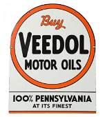 Buy Veedol Motor Oil Tombstone Shaped Sign