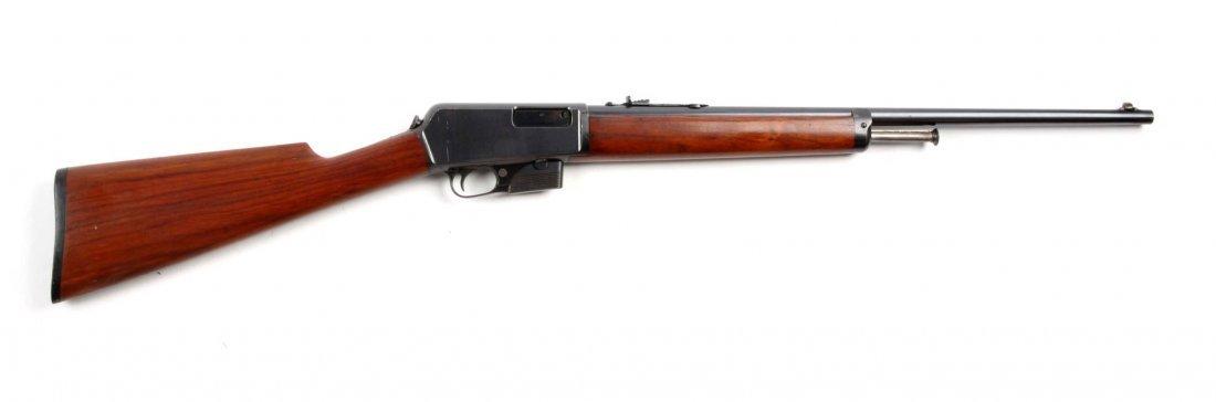 (C) Winchester Model 1905 Semi-Automatic Rifle.