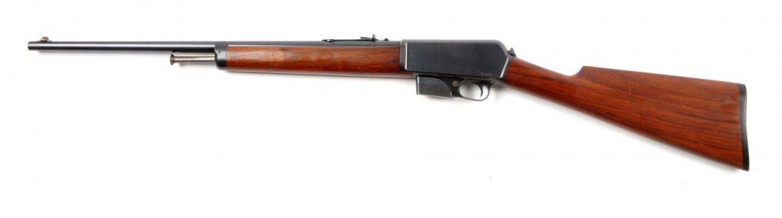 (C) Winchester Model 1905 Semi-Automatic Rifle. - 3