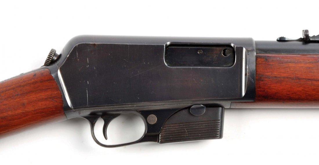 (C) Winchester Model 1905 Semi-Automatic Rifle. - 4