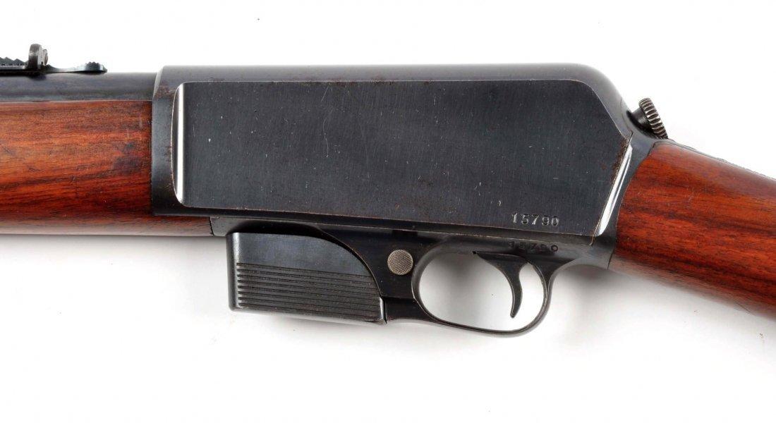 (C) Winchester Model 1905 Semi-Automatic Rifle. - 5