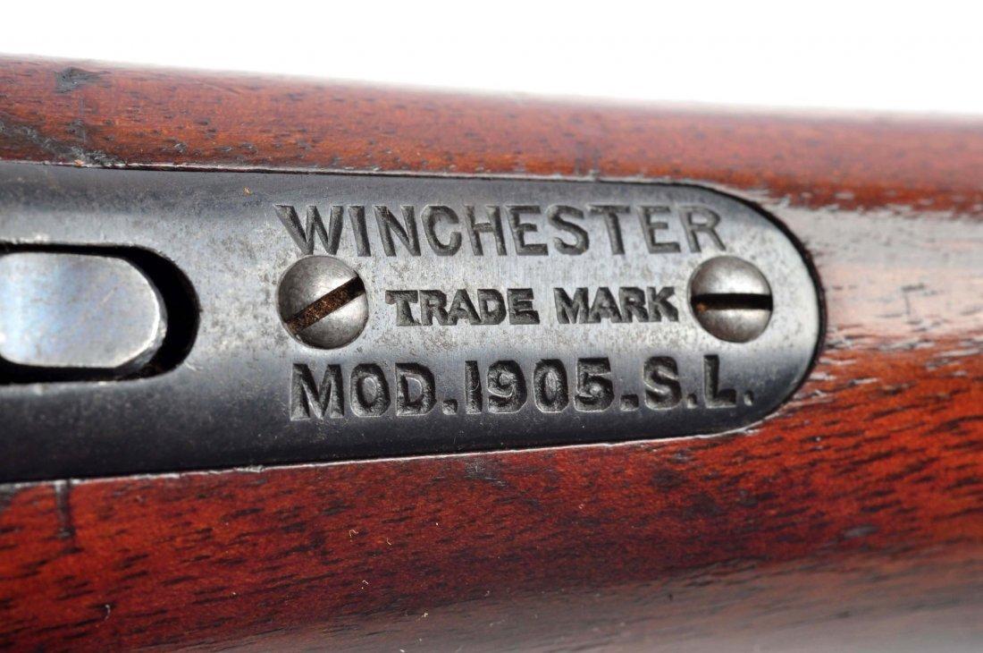 (C) Winchester Model 1905 Semi-Automatic Rifle. - 7