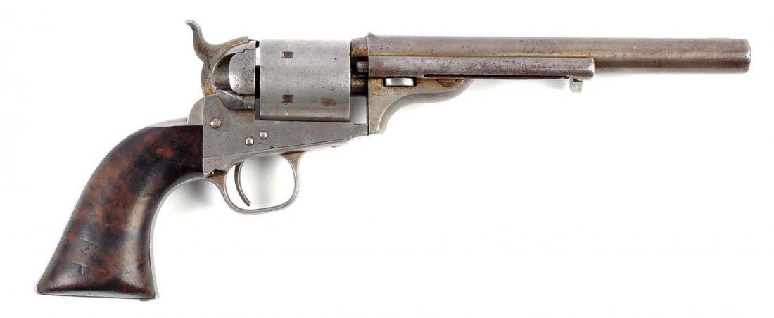 (A) Rare Early Colt Open Top Revolver.