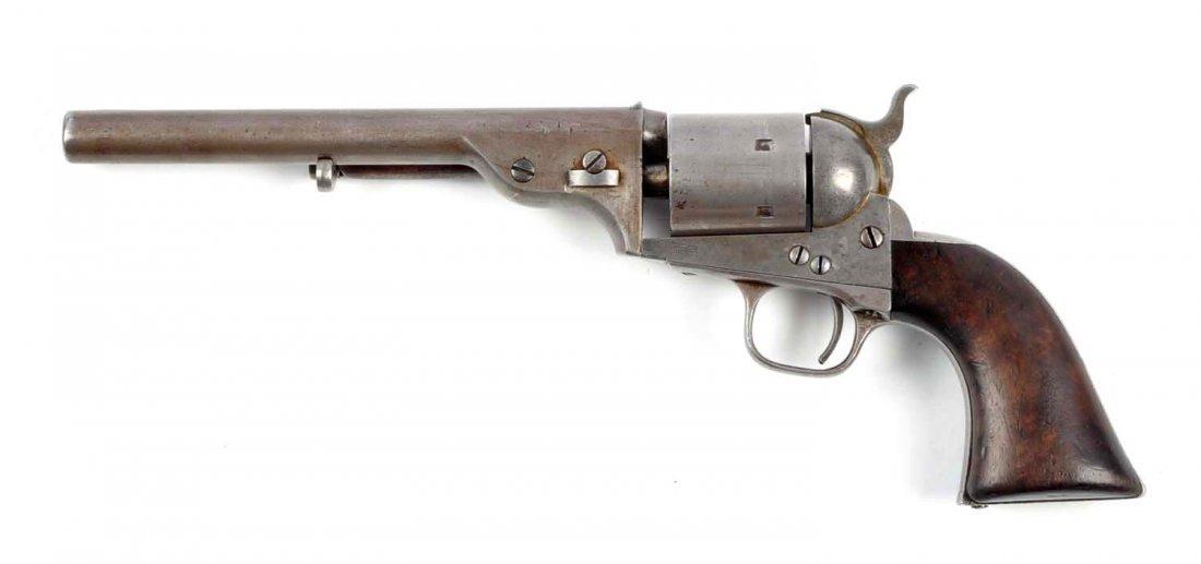 (A) Rare Early Colt Open Top Revolver. - 2