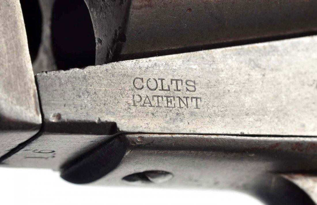(A) Rare Early Colt Open Top Revolver. - 5