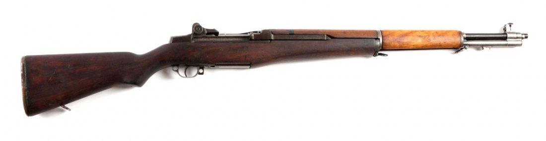 (C) U.S. Springfield M1 Garand Semi-Auto Rifle.