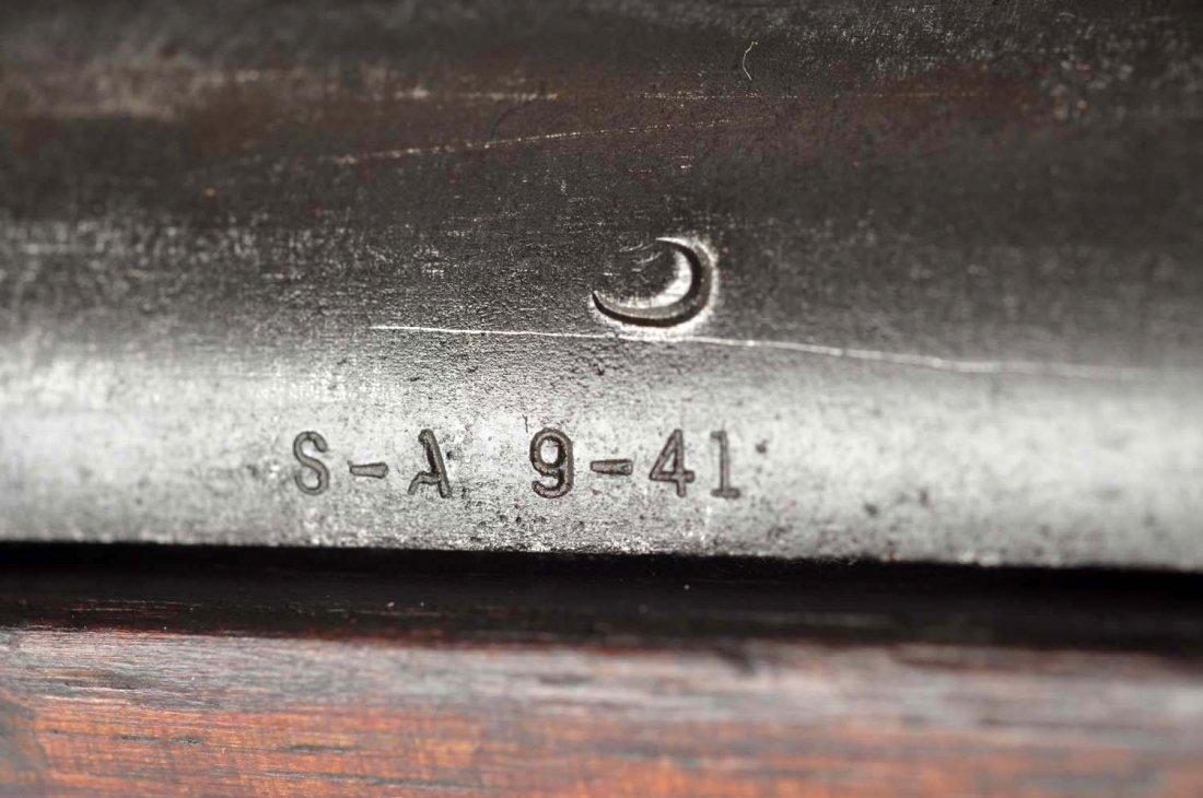 (C) U.S. Springfield M1 Garand Semi-Auto Rifle. - 6
