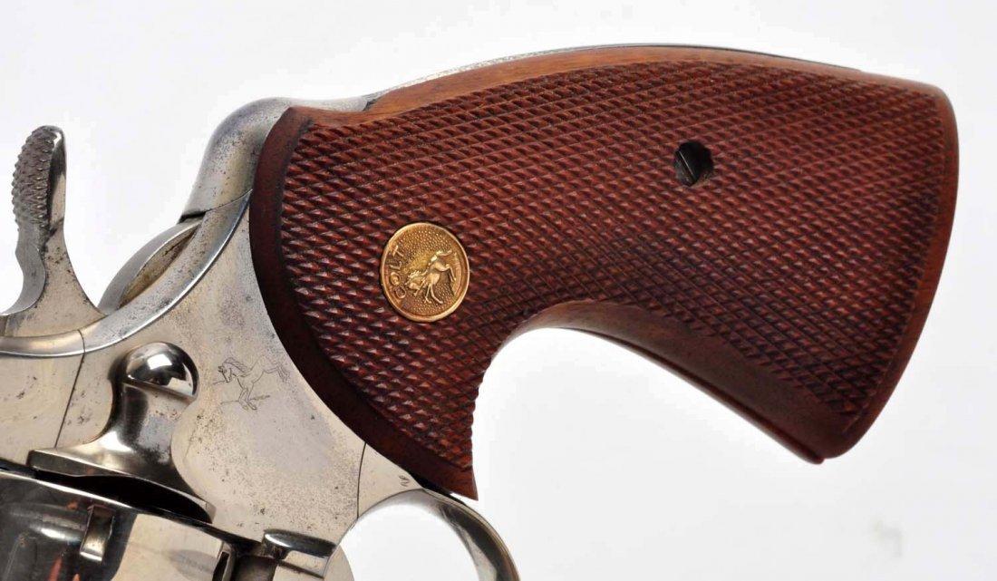 (C) 1st Factory Nickel Colt Python Revolver (1959) - 5