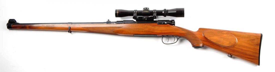 (C) Engraved Mannlicher Schoenauer 1952 Carbine. - 10