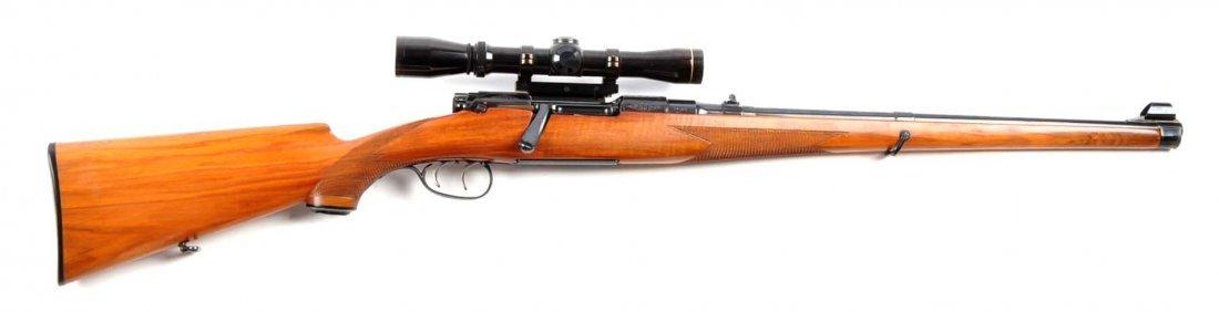 (C) Engraved Mannlicher Schoenauer 1952 Carbine.