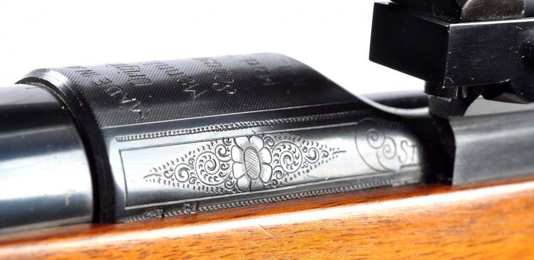 (C) Engraved Mannlicher Schoenauer 1952 Carbine. - 3