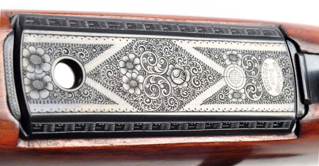 (C) Engraved Mannlicher Schoenauer 1952 Carbine. - 4