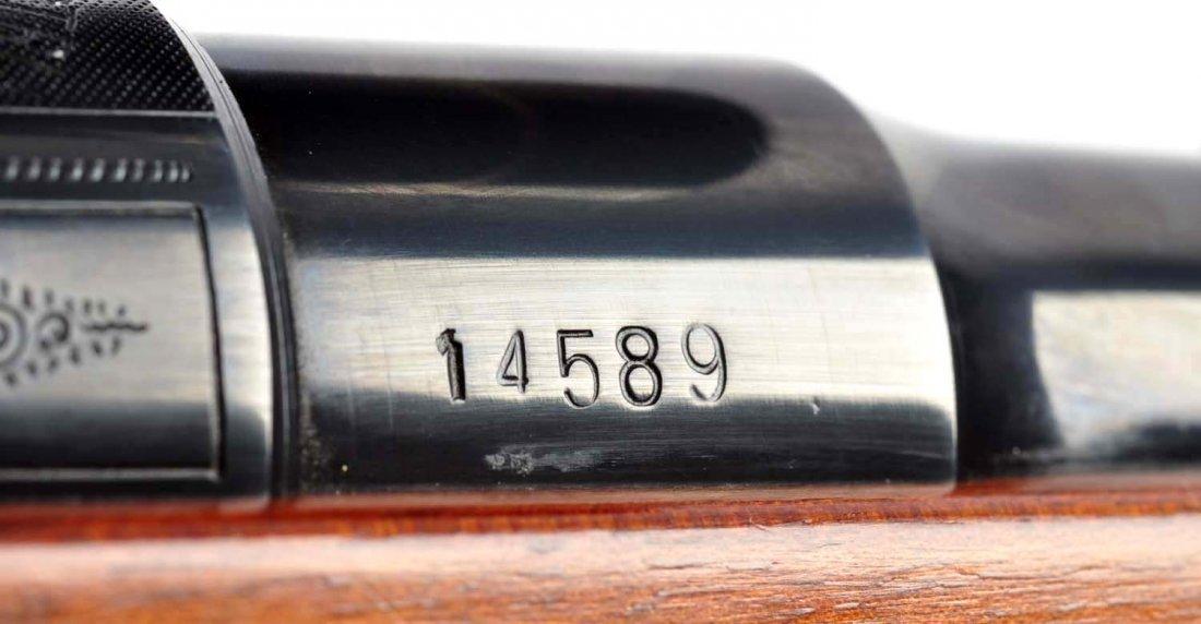 (C) Engraved Mannlicher Schoenauer 1952 Carbine. - 8
