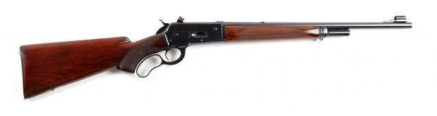(C) Rare Deluxe Win. Model 71 Short Rifle/Carbine.