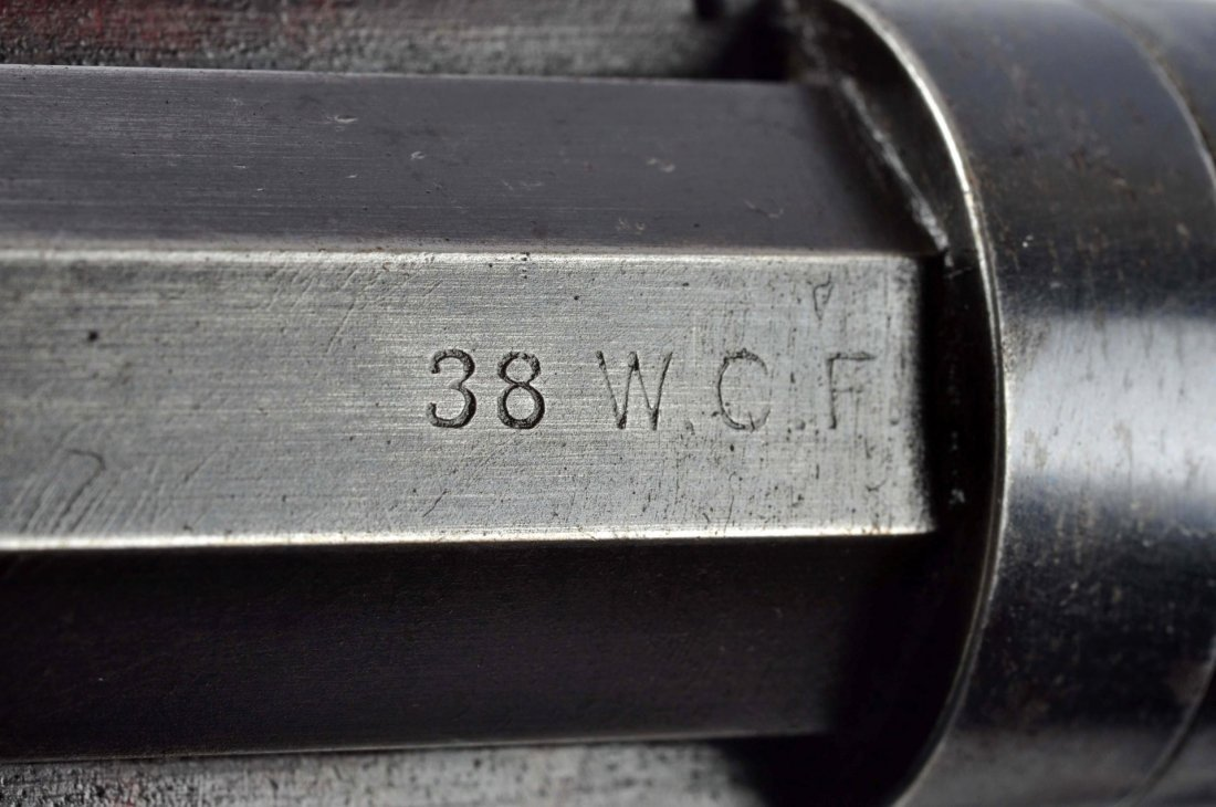 (A) Winchester Model 1892 Takedown L.A. Rifle. - 10
