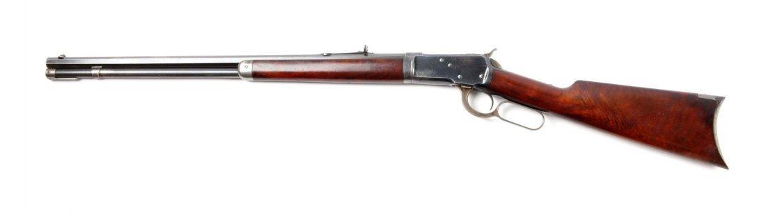 (A) Winchester Model 1892 Takedown L.A. Rifle. - 5