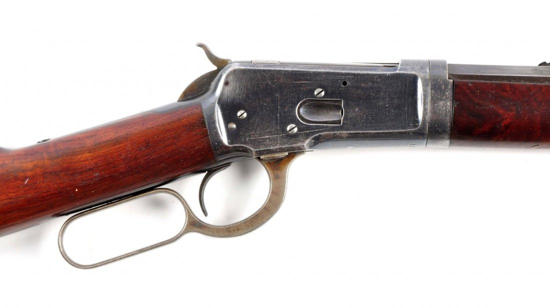 (A) Winchester Model 1892 Takedown L.A. Rifle. - 6