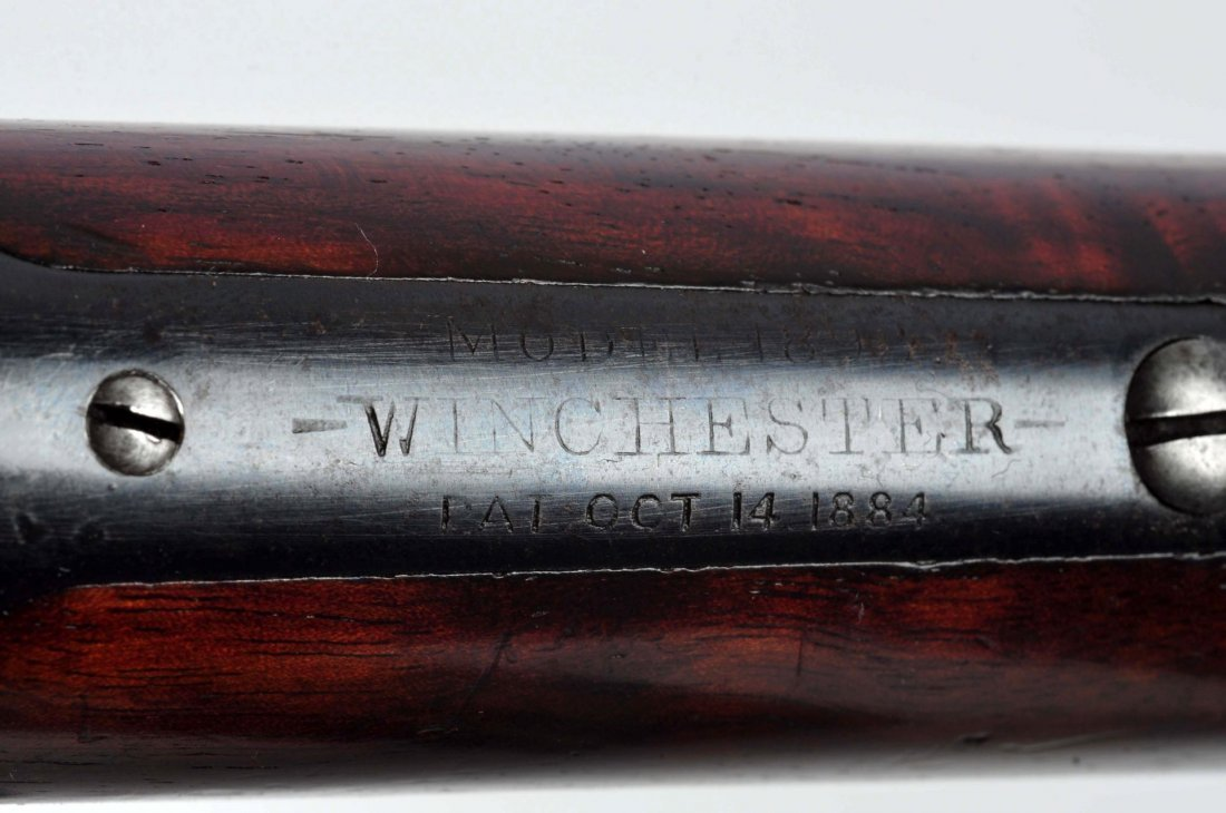 (A) Winchester Model 1892 Takedown L.A. Rifle. - 9