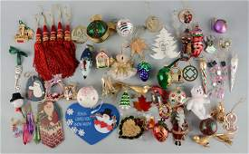 Large Lot Of Radco & Others Christmas Ornaments.