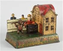 Cast Iron Organ Grinder  Bear Mechanical Bank