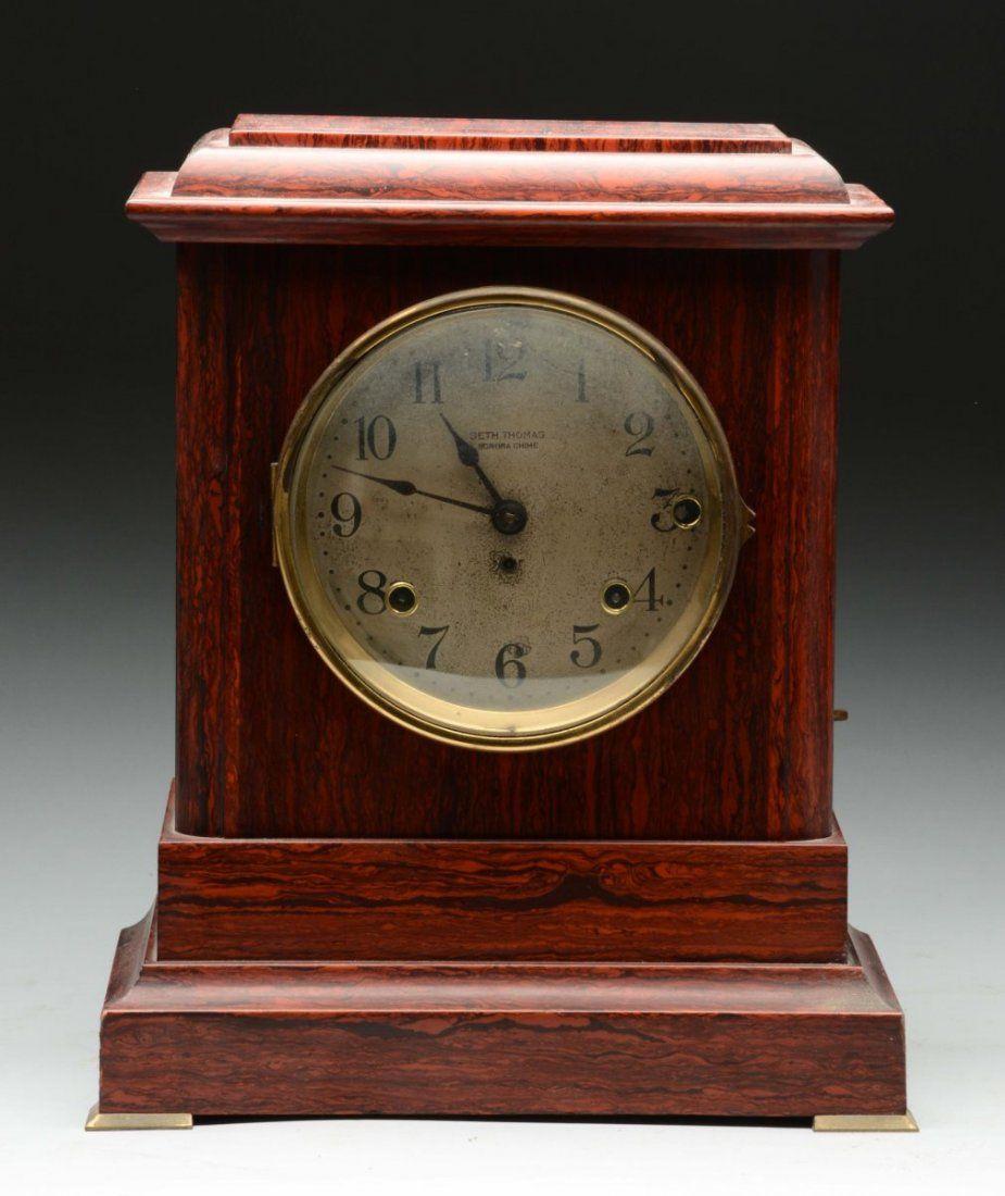 Seth Thomas Sonora Chime Shelf Clock.