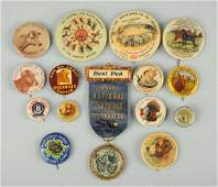 Lot of 16 Agriculture Related Pinbacks
