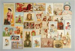 Lot of 20 Coffee Related Adv Trade Cards