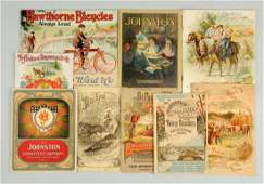 Lot of 9 Early Farming  Agriculture Catalogs