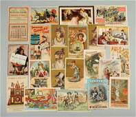 Assorted Paper Advertising