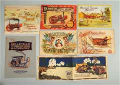 Lot of 7 Early Farming Brochures
