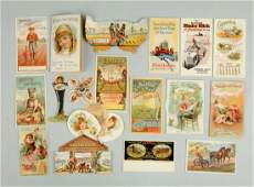 Lot of 18 Agriculture  Farming Trade Cards