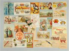 Lot of 20 Farming  Agriculture Trade Cards