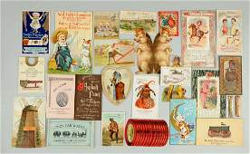 Lot of 20 Agriculture Related Trade Cards
