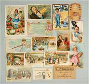 Lot of 10 Heinz Related Trade Cards
