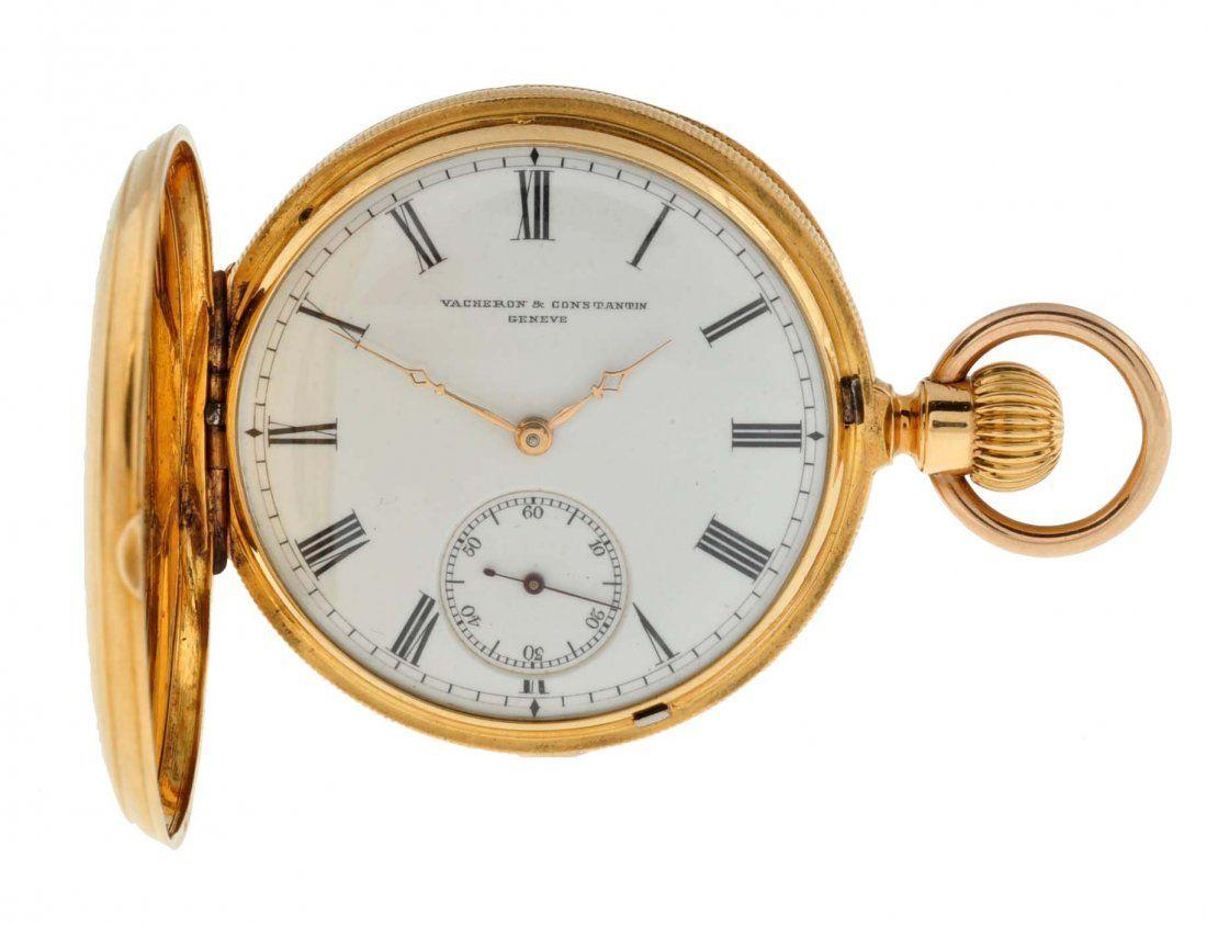 Vacheron & Constantine Gold Pocket Watch.