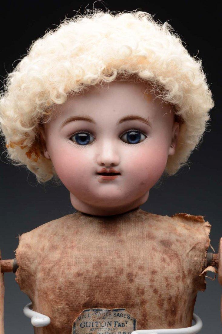 French Steiner Gigoteur Doll. - 2