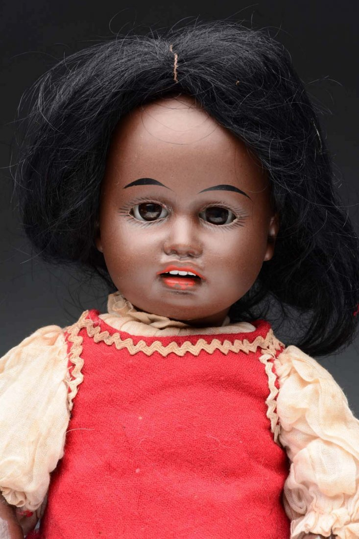Kuhnlenz Black Doll. - 2