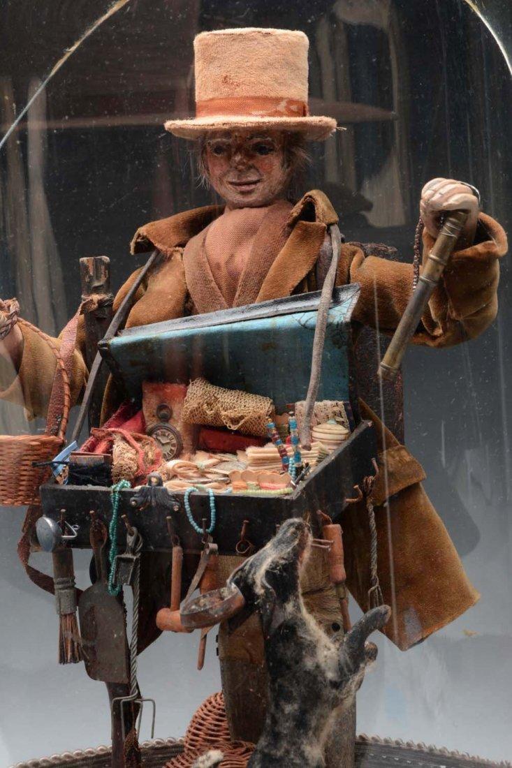 Gentleman Peddler Doll. - 2