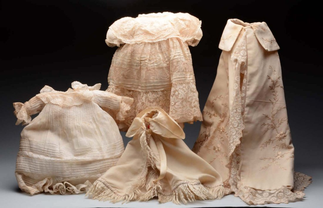 Lot of Antique Doll Clothing.