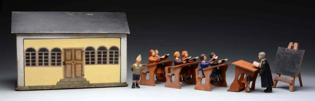 Rare School House Toy.