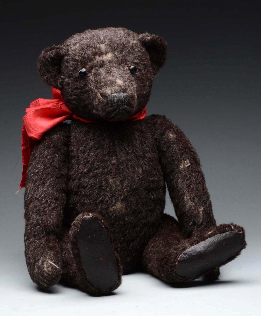 """23"""" Black English Teddy Bear."""