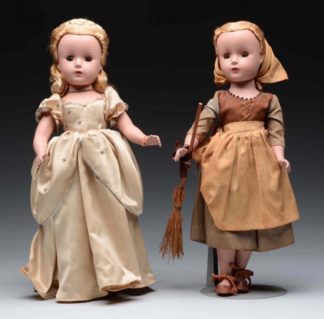 Trio of 1950's Madame Alexanda Dolls