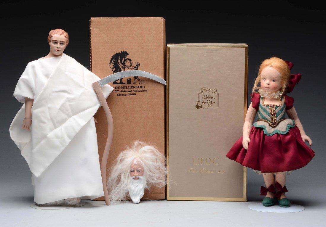 Lot of 2: UFDC Souvenir Dolls.