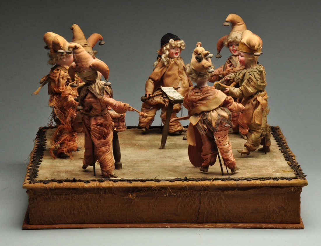 Beautiful & Complex Seven Figure French Automaton.