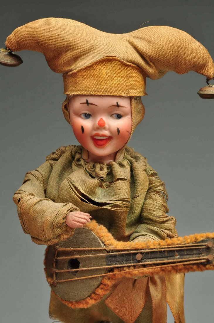 Beautiful & Complex Seven Figure French Automaton. - 6