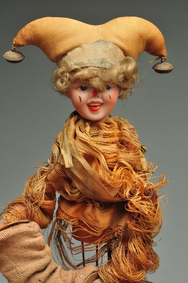 Beautiful & Complex Seven Figure French Automaton. - 8