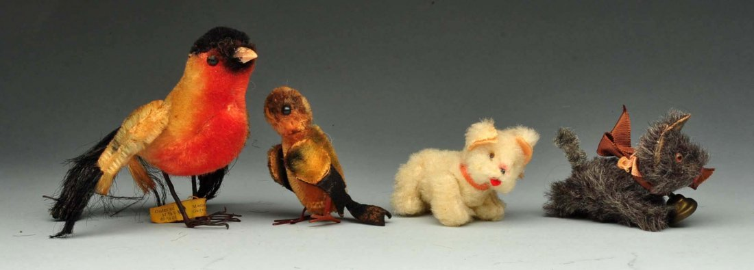 Lot of Steiff and Schuco Miniatures.