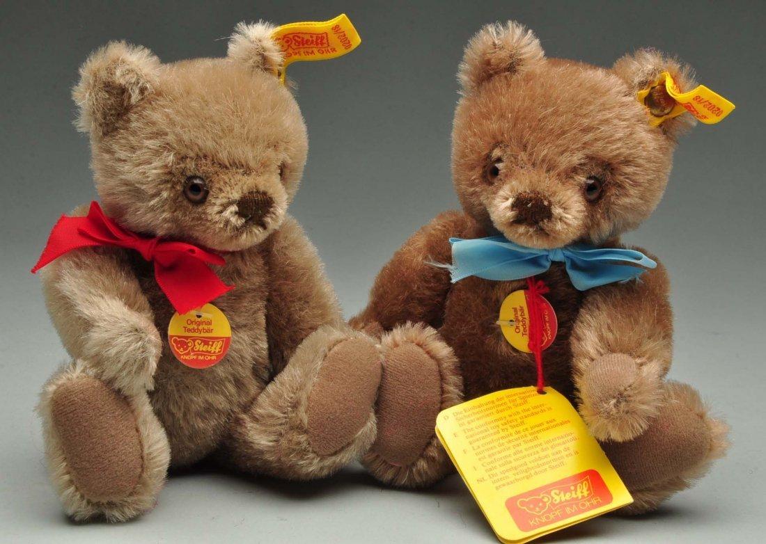 Lot of 6: Steiff Mohair Original Teddy Bears w/ID. - 8
